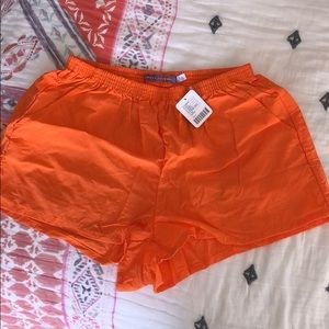 NWT Urban Outfitters Neon Orange Shorts
